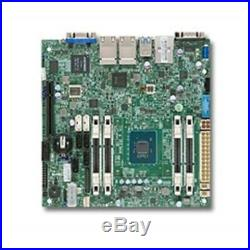 New Supermicro Motherboard MBD-A1SAI-2750F-O Atom C2750 32GB DDR3 PCI Express US