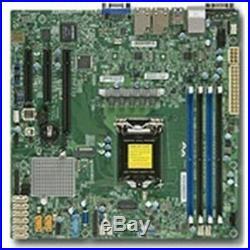 New Supermicro Motherboard MBD-X11SSH-F-O E3-1200 v5 LGA1151 Socket H4 C236 PCI