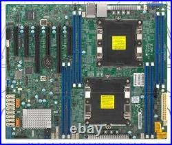 New X11DPL-i DDR4 Server Motherboard LGA 3647 Intel C621 PCI Express3.0 SATA III