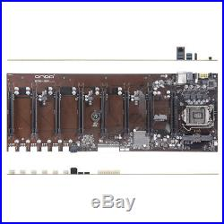 Onda B250 D8P-D3 Motherboard Mining 8 PCI-E Socket 1151