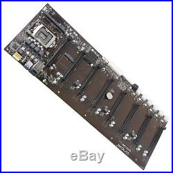 Onda B250 D8P-D3 Motherboard for ETH ZEC ETC XMR Miner 8 PCI-E