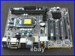 Original ASRock H77M Intel H77 Motherboard LGA 1155 DDR3 DVI HDMI USB 3.0 mATX
