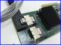 Original LSI 9211-8i SAS SATA 8-port PCI-E 6Gb HBA RAID Card WithBoth Bracket