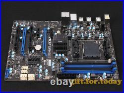 Original MSI 970A-G43 AMD 970 Motherboard MS-7693 AM3 AM3+ DDR3