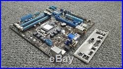 P8H77-M Asus HDMI VGA DVI-D SATA USB LGA1155 System Motherboard + I/O Shield