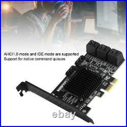 PCE8SAT-M01 PCI-E to SATA III Expansion Adapter Boards 8-Port PCI-E 1X2X4X8X16X
