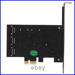 PCI-E to 6Gbps SATA3.0 8-Port SATA III Expansion Controller Card Adapter RAID BS
