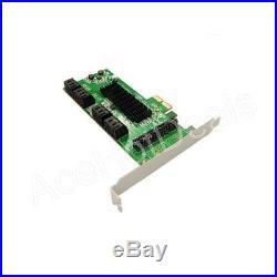PCI Express Pci-E 8 Port SATA3 Sataiii Kontrolleur Karte-W / Flache Ausführung