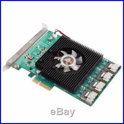 PCI-Express SATA 3.0 16 ports SATA3 6.0 Gbps PCI-e Controller Expansion Card
