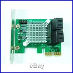 PEX-SAT4R 4-Port SATA 6G PCI Express 2.0 Host Adapter PCIe AHCI III 6Gbps RAID