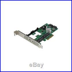 PEXMSATA3422 Startech Controller Card, 2Port Pci-Ex SATA 6Gb/S