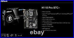 Placa base ATX ASRock H110 PRO BTC+ Socket 1151 13 x GPUs Ethereum Mining