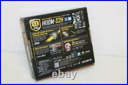 Placa base mATX H110 GIGABYTE H110M-S2H Socket 1151 ddr4 con Accesorios