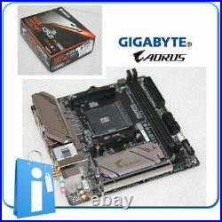 Placa base mITX GIGABYTE B450 i AORUS PRO WIFI Socket AM4 con Accesorios