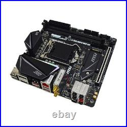 REFURBISHED MSI MPG Z390I GAMING EDGE AC LGA 1151 HDMI/DP Mini-ITX Motherboard