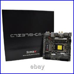 RetailBox NEW Supermicro C7Z370-CG-IW Mini-ITX LGA 1151 Motherboard M. 2 DDR4 DP