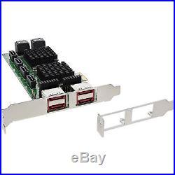 SATA 6Gb/s PCI-E Controller 8 Port SATA with 4x eSATA