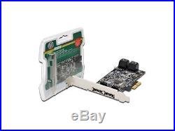 Scheda Aggiuntiva Pci Express SATA II Con 4+2 Connettori SATA III