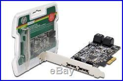 Scheda Aggiuntiva Pci Express SATA II Con 4+2 Connettori SATA III Ds30104