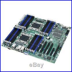 SUPERMICRO X9DR3-LN4F+ Dual Socket XEON LGA2011 EE-ATX Server Motherboard