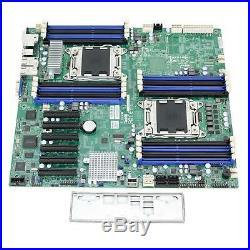 SUPERMICRO X9DRD-EF Dual Socket XEON LGA2011 Extended ATX Server Motherboard