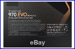 Samsung 250GB 970 EVO NVMe M. 2 PCI Express Solid State DriveMZ-V7E250BWBlack