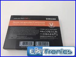 Samsung 250GB M. 2 PCIe PCI-Express 3.0 NVMe 960 EVO Series SSD Drive MZ-V6E250BW