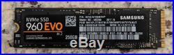 Samsung 960 Evo 250GB NVMe M. 2 PCI-Express Internal MZ-V6E250