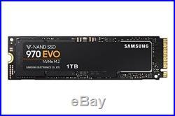 Samsung 970 EVO 1 TB V-NAND M. 2 PCI Express Solid State Drive Black