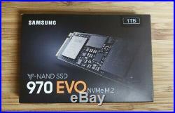 Samsung 970 EVO 1TB Internal PCI Express 3.0 x4 (NVMe) SSD! D! M. 2
