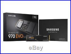 Samsung 970 EVO MZ-V7E1T0BW encrypted 1 TB internal M. 2 2280 PCI Express 3.0