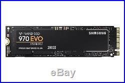 Samsung 970 EVO NVMe M2 Series 250GB M. 2 PCI-Express 3.0 x 4 SSD