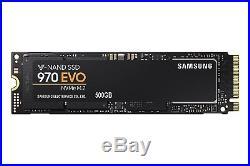 Samsung 970 EVO NVMe M2 Series 500GB M. 2 PCI-Express 3.0 x 4 SSD