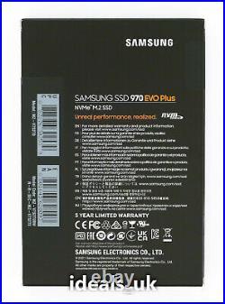 Samsung 970 EVO Plus 2TB M. 2 (PCIe 3.0 x4) (MZ-V7S2T0) NVMe Solid State Drive
