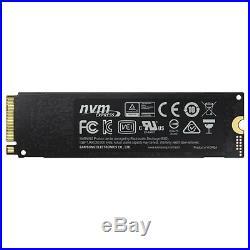 Samsung 970 PRO MZ-V7P1T0E 1 TB Internal Solid State Drive PCI Express