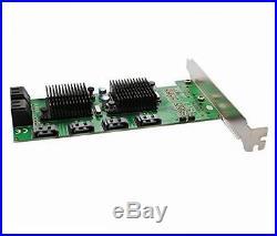 Sd-pex40104 pci-express 8-port internal sata 6gbps dual chipset pci-e v2.0 x 1