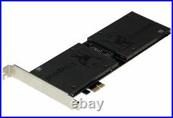 Sedna PCI Express (PCIe) Dual 2.5 Inch SATA III (6G) SSD Adapter Extended Si