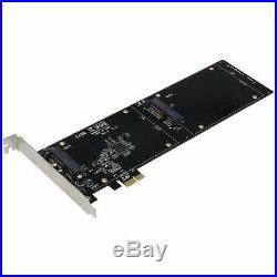 Sedna PCI Express Quad 2.5 Inch SATA SSD Controller Card