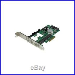 StarTech 2 Port PCI Express 2.0 SATA III 6Gbps RAID Controller Card