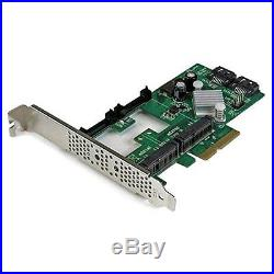 StarTech 2 Port PCI Express 2.0 SATA III RAID Interface Card