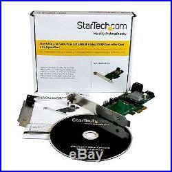 StarTech 3 Port PCI Express 2.0 SATA III RAID Solid State Drive