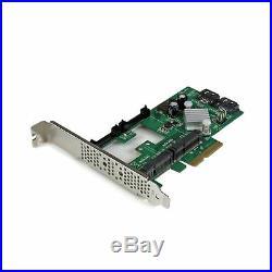 StarTech. Com 2 Port PCI Express 2.0 SATA III 6Gbps RAID Controller Card with