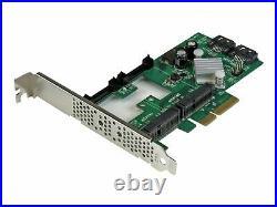 StarTech. Com 2 Port PCI Express 2.0 SATA III 6Gbps RAID Controller PEXMSATA3422