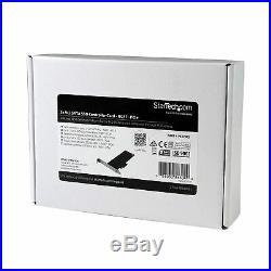 StarTech. Com 2x M. 2 SATA SSD Controller Card PCIe PCI Express M. 2 SATA