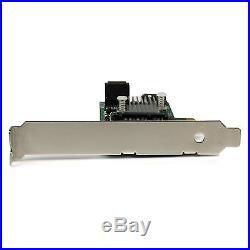 StarTech. Com 3-Port PCI Express 2.0 SATA III 6 Gbps RAID Controller Card. New