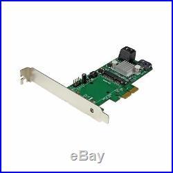 StarTech. Com 3 Port PCI Express 2.0 SATA III 6 Gbps RAID Controller Card with