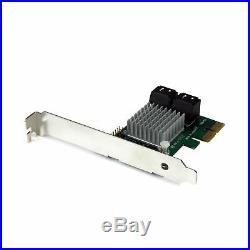 StarTech. Com 4 Port PCI Express 2.0 SATA III 6Gbps RAID Controller Card wit