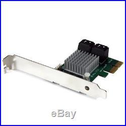 StarTech. Com 4 Port SATA III RAID Controller PCI Express Schnittstellenkarte
