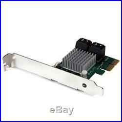StarTech Controller Card PEXSAT34RH 4Port PCI Express SATA 6Gbps RAID with