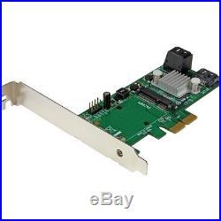 StarTech PEXMSATA343 StarTech. Com 3 Port PCI Express 2.0 SATA III 6 Gbps RAID Co